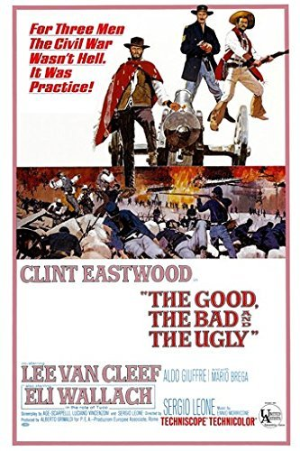 HSE The Good The Bad And The Ugly Poster Vintage Film Poster 2-Clint Eastwood Rare Hot 61x 91,4cm -