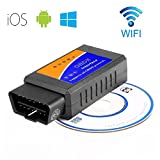 Best Auto Scanner Tools - elegadget ELM327 Wireless OBD2 Auto Scanner Adapter Scan Review