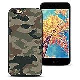 MoEvn Coque iPhone 6S Plus Noir, Ultra Mince Souple Silicone TPU Etui Housse de Protection pour iPhone 6 Plus / 6S Plus Anti-Choc Case Cover Anti-Scratch Flexible Couverture Bumper - Camouflage