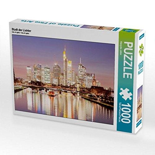 Metropole Ein Licht (Stadt der Lichter 1000 Teile Puzzle quer)
