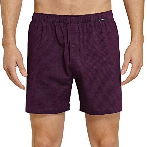 Preisvergleich Produktbild Schiesser Herren Essentials Boxershorts (2er Pack), 2er Pack, Rot (Aubergine 511), Medium (Herstellergröße: 005)