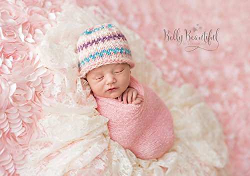 Sprightly Beanie Knitting Pattern - All Sizes Newborn, Baby, Toddler, Child, Teen and Adult Included (English Edition) -