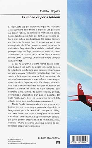 Resumen del libro de Marta Rojals EL CEL NO ÉS PER A TOTHOM