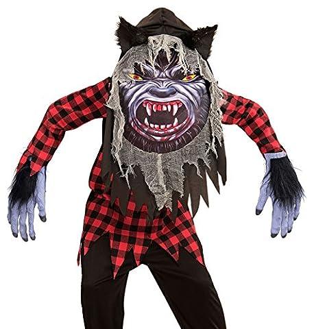 Widmann - Déguisement loup garou avec masque géant - 10/13
