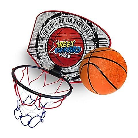 Panier Basket Exterieur - Twitfish® - Mini Hoop Panier de