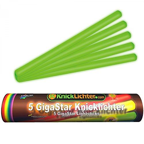5giga Star knick luci verde (300X 15mm), fabrikfrische Premium qualità professionale ware