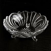 frutta continentale/Ciotole di vetro grande Living room/ piatto della caramella creativa/ moderna piatto asciutto-A