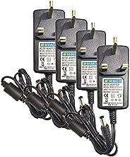 12VDC 2Amp. Power Adapter — AC100V-220V Input Range (4 pcs.)