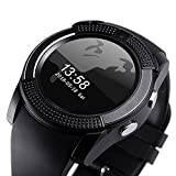 KRAZZY Huawei Honor V10 Compatible Smartwatch bluetooth with camera(V9.blakk.29, Black)