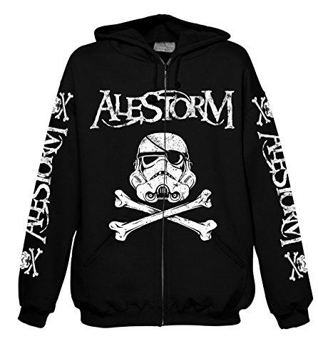 Chameleon Clothing Alestorm Darth Vader Hood-Zip ()