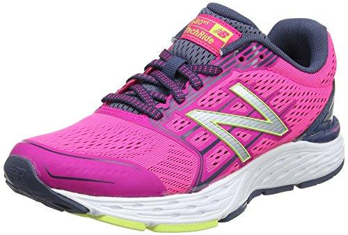 New Balance W680v5, Zapatillas de Running para Mujer, Rosa (Pink), 39 EU