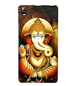 Takkloo Lord Ganesha ( Painting of lord ganesha, Lord of hindus, son of god shiva, Nice painting) Printed Designer Back Case Cover for Lenovo A7000 :: Lenovo A7000 Plus :: Lenovo K3 Note