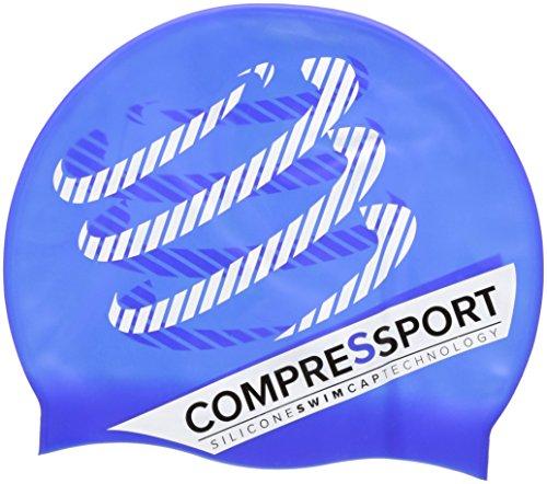 Compressport GNACS - Gorro de natación unisex, color azul, talla úni