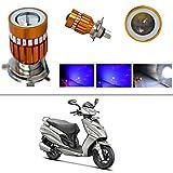 #9: AutoStark High Quality H4 Bike Led Head Light Multi for Hero Maestro