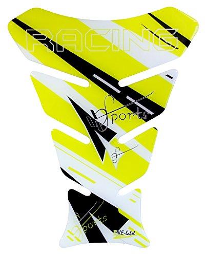 R1200GS 3d–Racing Sports Yellow/amarillo/negro–501700–Universal para Yamaha, Honda, DUCATI, SUZUKI, KAWASAKI, KTM, BMW,...