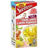 Maggi Sveltesse Soupe Instantanée Poule pâtes et petits Légumes (4 Sticks) - 56g -