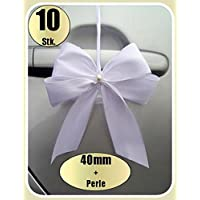 10 Antennenschleifen Autoschleifen Spiegelschleifen Hochzeit (0,89€ Stk)
