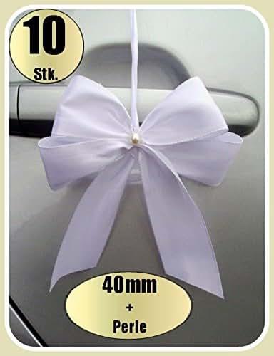 10 Antennenschleifen  Farbwahl Neu Autoschleifen  Hochzeit. 0,89€ Stk