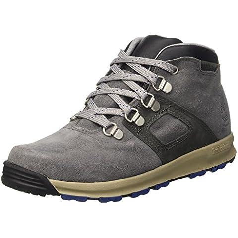 Timberland Gt Scramble_gt Scramble_gt Scramble Wp Leather Mi - botas de caña baja con forro cálido y botines Unisex Niños