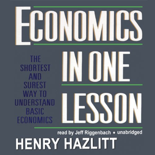 Economics in One Lesson  Audiolibri