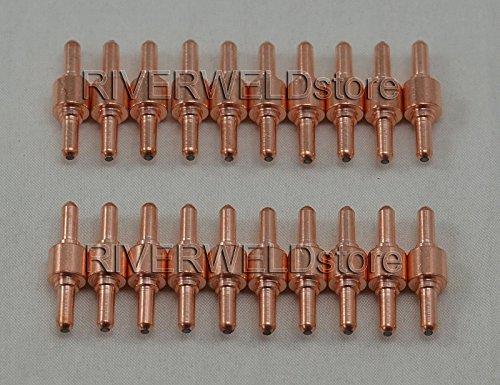 100pcs PT31 LG40 Plasma Elektrode Spitze Düse Schneiden Verbrauchsmaterial Zubehör Passform cut-50d CUT50 ct-312