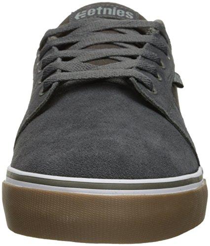 Etnies Barge LS, scarpe da skateboard da uomo Grey/White/Gum