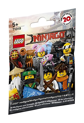LEGO Minifiguras 71019 Colección The Ninjago Movie