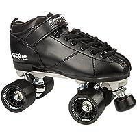 Rookie Ruckus Roller derby-Pattini Quad Stunt, taglia 39, colore nero