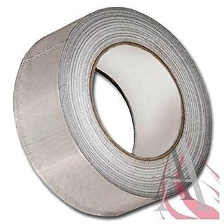 Tape aluminium 5 cm x 50 m résiste à la chaleur jusqu'à 150° band aluminium