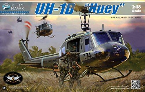 KH80154 1:48 Kitty Hawk UH-1D Huey (MODEL BUILDING KIT)