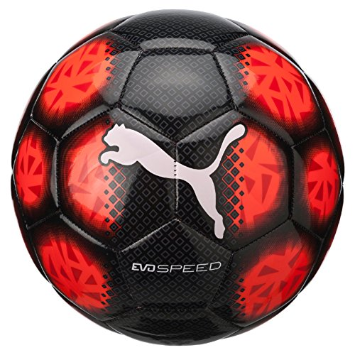 PUMA evoSPEED 5.5 Fade ball, Puma Black/Red Blast/Puma White, 5, 082658 01