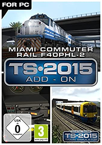 Miami Commuter Rail F40PHL-2 Loco Add-On [PC Steam Code]
