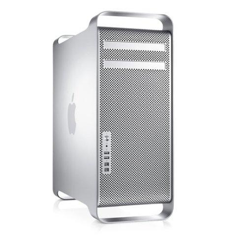 Preisvergleich Produktbild Apple Mac Pro MB871D / A Desktop-PC (Intel Quad-Core Xeon 2, 66GHz,  3GB RAM,  640GB HDD,  Nvidia GeForce GT 120,  DVD+- DL RW,  Mac OS X)