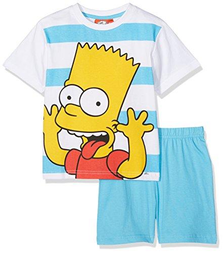 the-simpsons-smcl27402-ensemble-de-pyjama-garcon-bleu-white-lblue-12-ans-taille-fabricant-12-ans