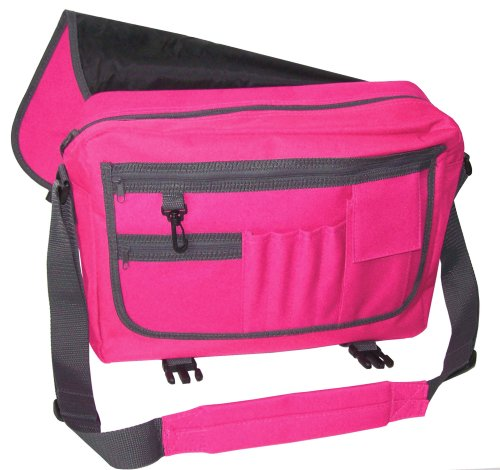 Funky Filly Ragazza Pony 'Best Friends�?Borsa a Tracolla Rossa Dimensioni 41x31x12 cm Rosa Fucsia