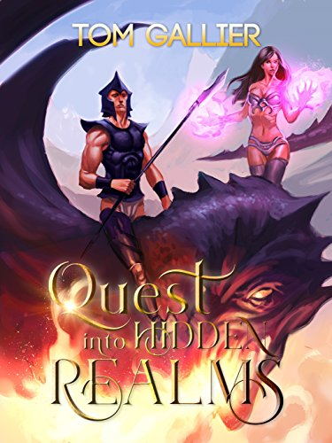 Quest into Hidden Realms (Hidden Realms LitRPG Series Book 1) (English Edition) -