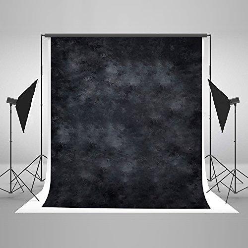 KateHome PHOTOSTUDIOS 3x3m Schwarz Foto Hintergrund Abstrakt Fotografie Hintergründe Requisiten Bedruckt Mikrofaser Hintergründe für Fotostudio
