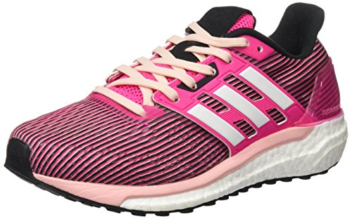 adidas Supernova W, chaussure de sport femme Rose (Shock Pink/Ftwr White/Core Black)