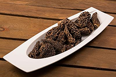 Special morel mushroom (morcella conica), without stalks, premium quality, dried, 50 g