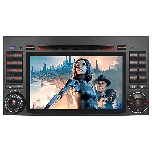 "7\"" AUTORADIO MIT 3G DVD GPS NAVIGATION NAVI USB SD BLUETOOTH Autoradio CD Moniceiver Naviceiver CANBUS Dual Zone Subwoofer DAB für Mercedes-Benz B200 A B Klasse W169 W245 Viano Vito W639 Sprinter W906"
