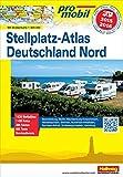 Deutschland Nord Stellplatz-Atlas 2015 (Hallwag Promobil)