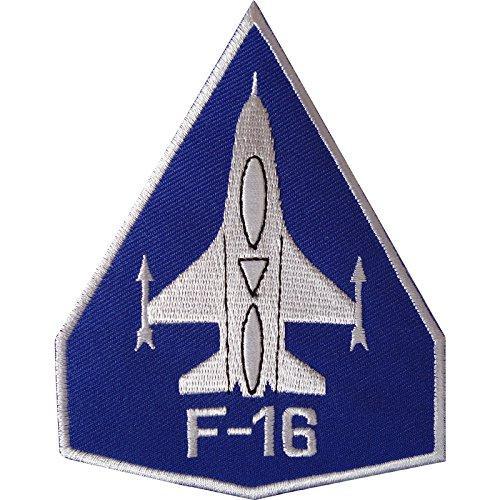 F16parche hierro/sew bordado insignia Estados Unidos