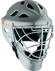 Oficial de hockey Grays G600 sallersafetypro casco ajustable con correa para la barbilla plata Talla:tamaño