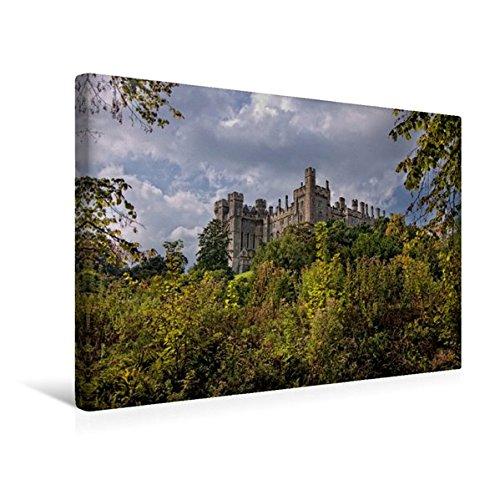 Calvendo Premium Textil-Leinwand 45 cm x 30 cm Quer, Arundel Castle | Wandbild, Bild auf Keilrahmen, Fertigbild auf Echter Leinwand, Leinwanddruck Orte Orte