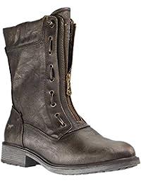 998b9579b9f Amazon.es  botas de mujer mustang - Envío internacional elegible ...