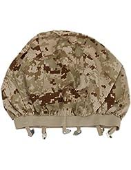 Combate Cubierta Táctica Militar Casco De Camuflaje Para M88 - Digital Del Desierto