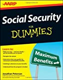 Social Security For Dummies by Peterson, Jonathan (2012) Paperback
