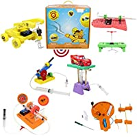 Butterflyfields STEM Toys for 8 10 to 12 years Boys Girls Science Learning Toys DIY Physics Kits for kids Air Shooter…