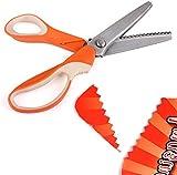 TOOL018 Boxcute Handled Professional Dressmaking Pinking Sewing Shears Scissor Scissors Zig Zag Craft Cut by Boxcute