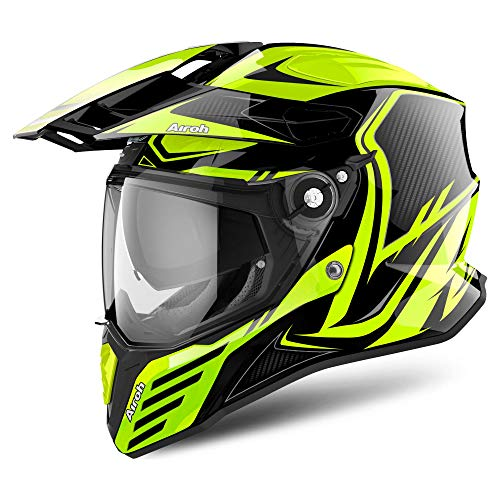 Airoh CMCA31 Commander Carbon Yellow Gloss M, M
